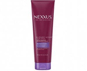 Nexxus blonde assure purple shampoo.