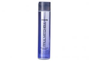 Paul Mitchell platinum blonde shampoo.