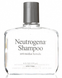 Neutrogena's shampoo with anti-residue formula.