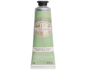 L'Occitane almond delicious hand cream.
