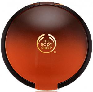 The Body Shop's honey bronze bronzing powder.
