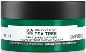 The Body Shop's tea tree face mask.