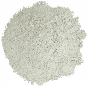 Pile of ivory powder.