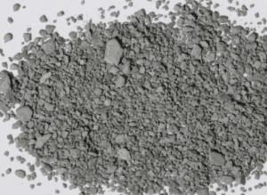 Grey powder.