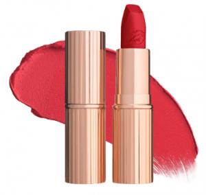 charlotte tilbury red lipstick.