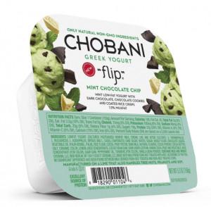 Chobani flip snacks packaging.