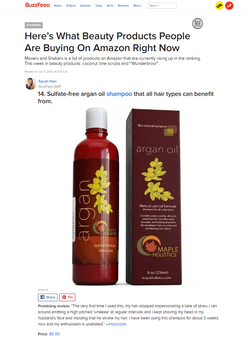Beauty Products People Are Buying On Amazon