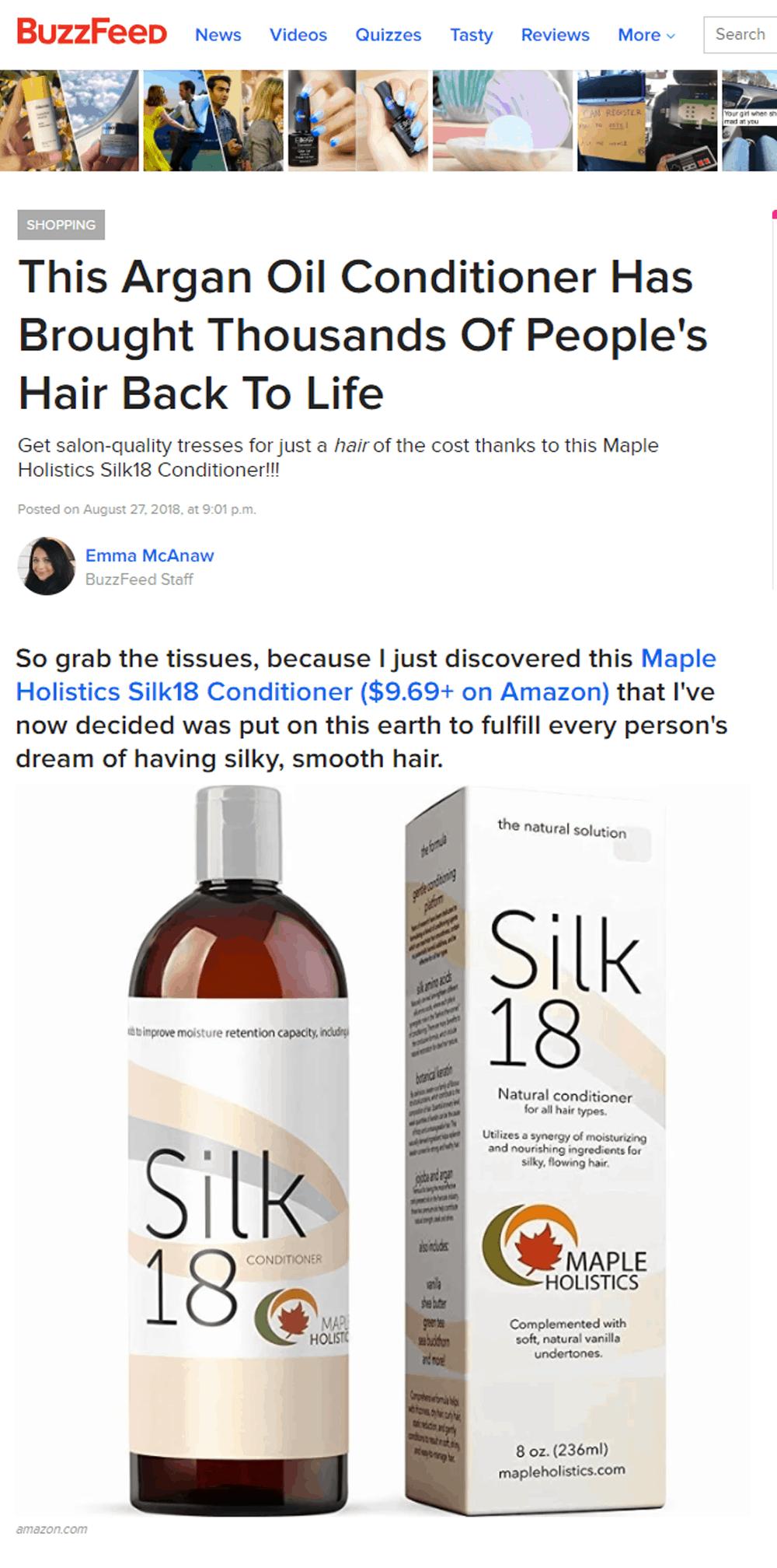 silk 18 on buzzfeed