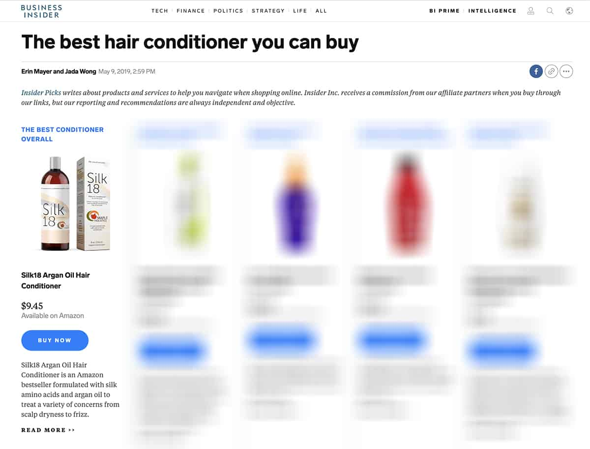 best hair conditioner you can buy