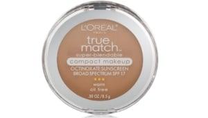 L'Oréal's true match foundation.