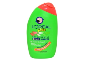 L'Oréal Kids Extra Gentle 2-in-1 Shampoo With A Burst Of Watermelon.
