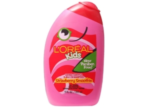 L'Oréal Kids Strawberry Smoothie 2-in-1 Shampoo For Extra Softness.